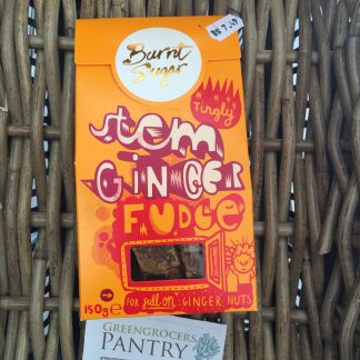 stem ginger fudge