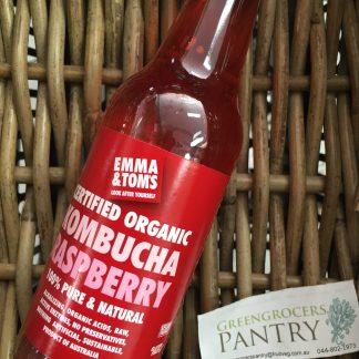 Kombucha organic raspberry
