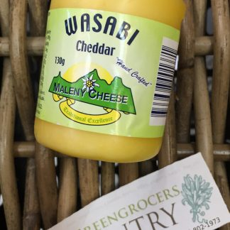 Cheese wasabi cheddar 130g