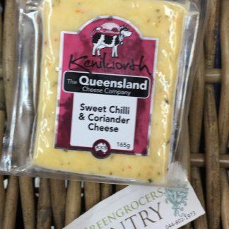 Cheese sweet chilli & coriander 165gm