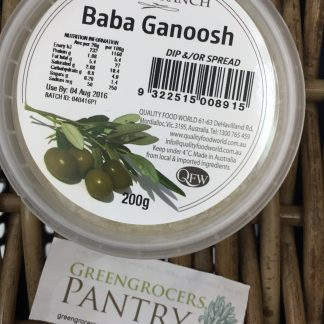 Baba Ganoosh Olive Branch