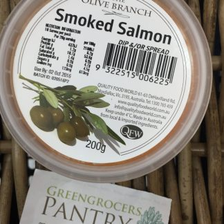 Smoked salmon Olive Branch