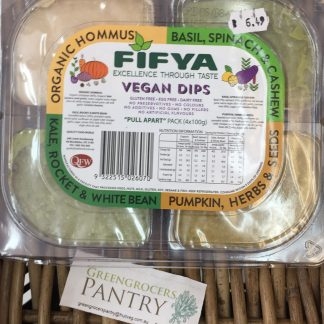 Dip 4 in 1 pack vegan fifya 4 x 100gm packs