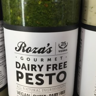 Pesto dairy free 240ml Rozas