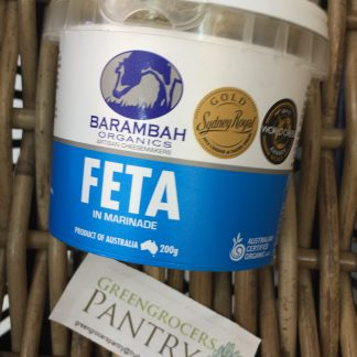 Feta in marinade organic