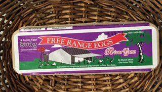 free range eggs 800gm