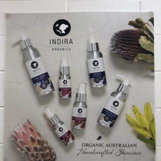 Indra organics skincare